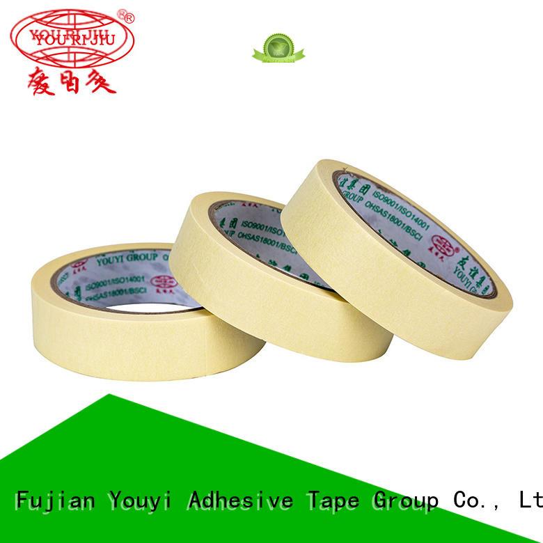 paper masking tape supplier for bundling tabbing Yourijiu