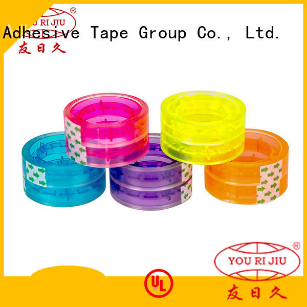 Yourijiu bopp packaging tape high efficiency for decoration bundling