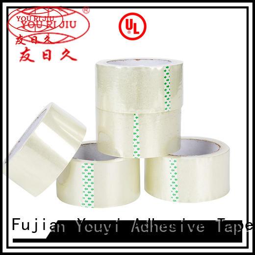 Yourijiu odorless custom printed tape for decoration bundling