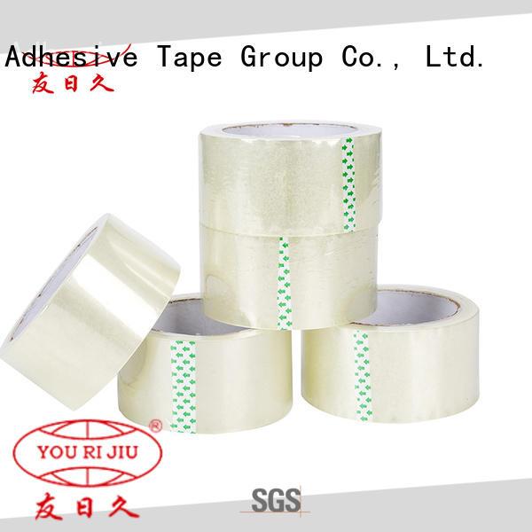 Yourijiu non-toxic bopp printed tape anti-piercing for auto-packing machine