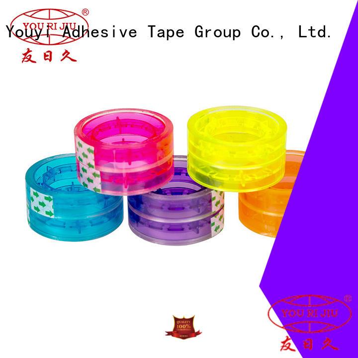 Yourijiu bopp packing tape high efficiency for auto-packing machine
