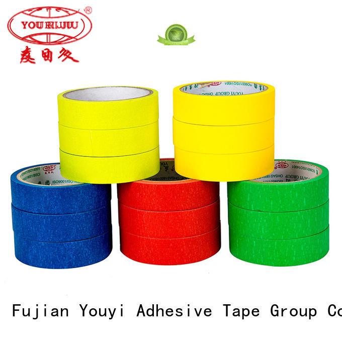 Yourijiu paper masking tape wholesale for bundling tabbing
