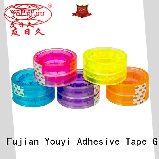 Yourijiu non-toxic clear tape high efficiency for auto-packing machine
