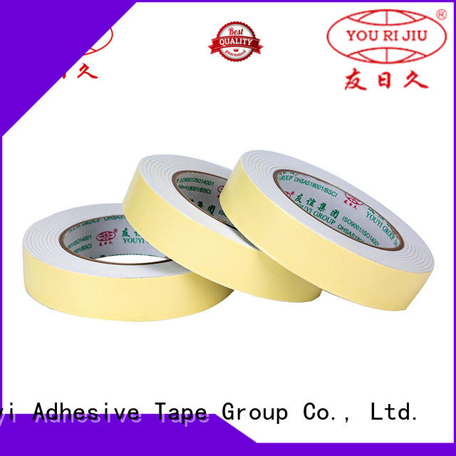 Yourijiu anti-skidding double sided eva foam tape at discount for food