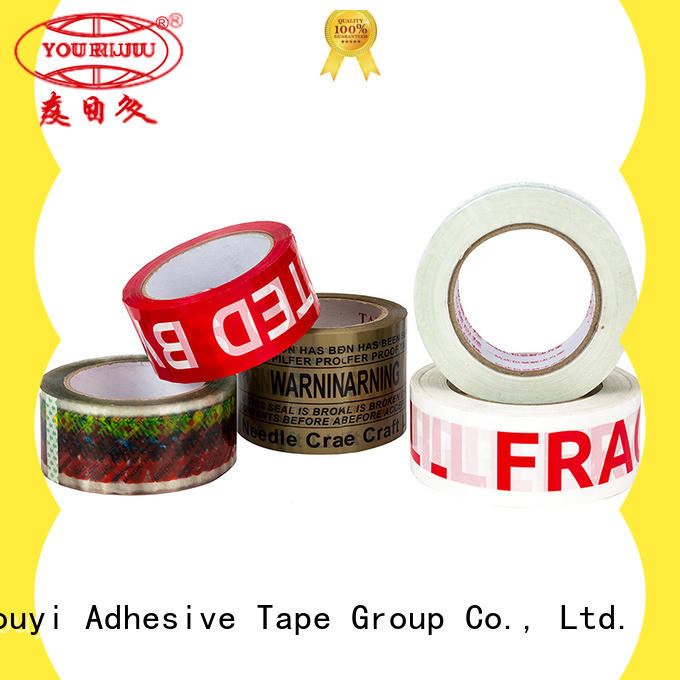 Yourijiu clear tape high efficiency for decoration bundling