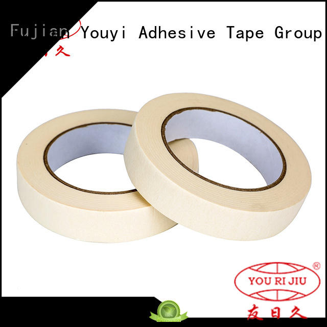 Yourijiu paper masking tape supplier for bundling tabbing