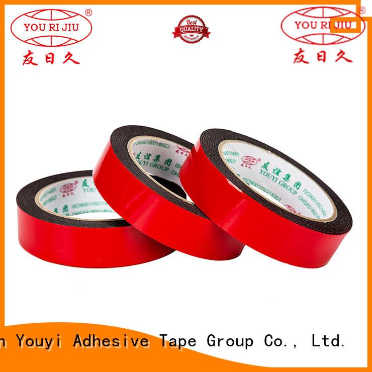 industrial double sided tape for stationery Yourijiu