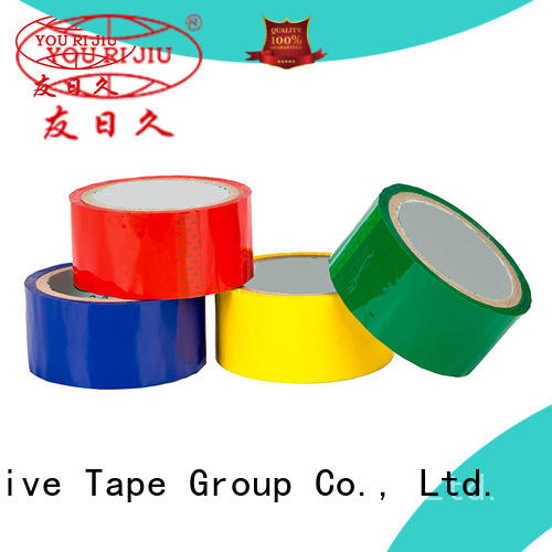 Yourijiu odorless bopp adhesive tape supplier for gift wrapping