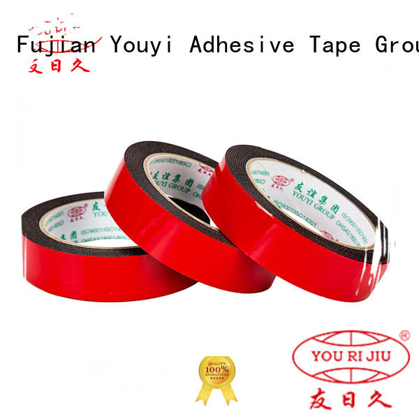 Yourijiu aging resistance industrial double sided tape for food