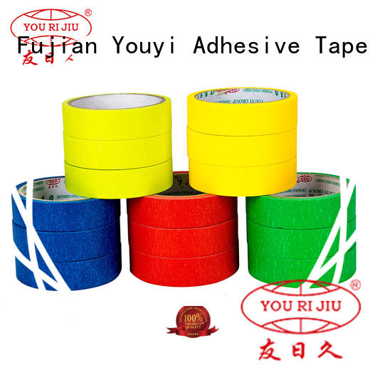 Yourijiu adhesive masking tape easy to use for home decoration