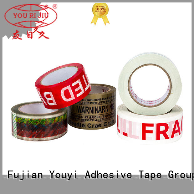 non-toxic clear tape high efficiency for strapping