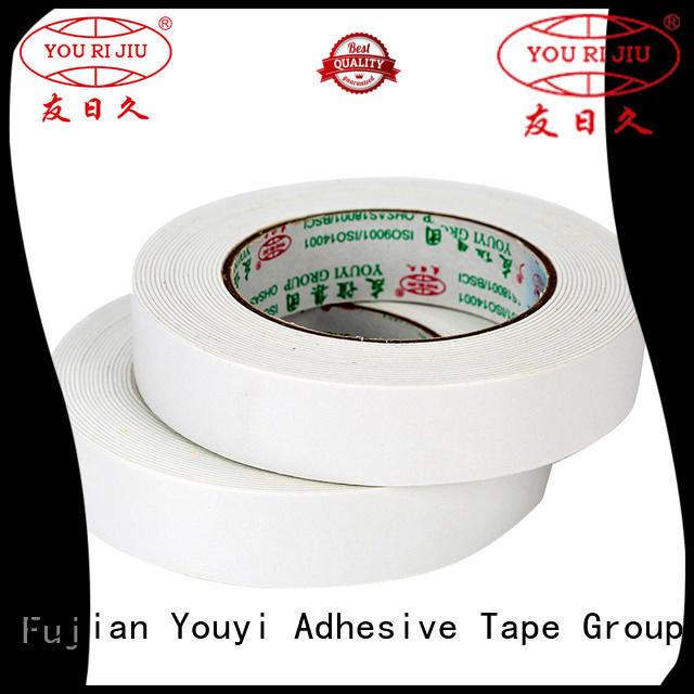 Yourijiu aging resistance double face tape manufacturer for food