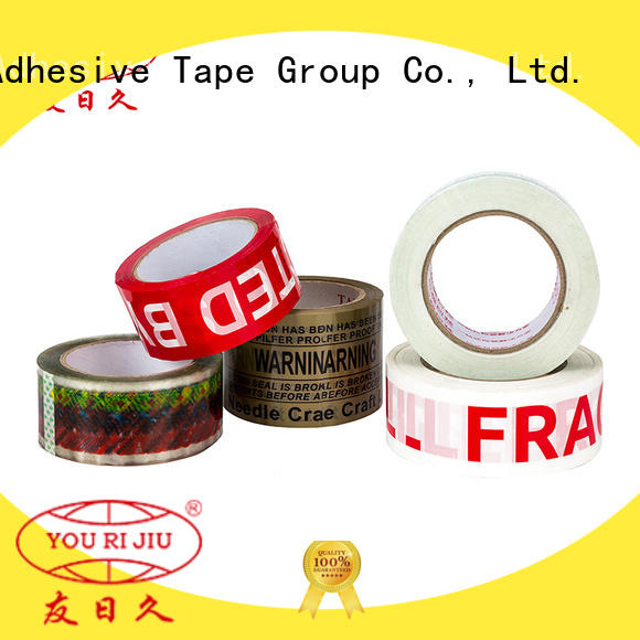 Yourijiu good quality bopp adhesive tape anti-piercing for carton sealing