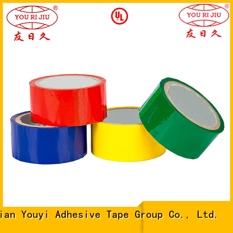 Yourijiu non-toxic bopp adhesive tape factory price for gift wrapping