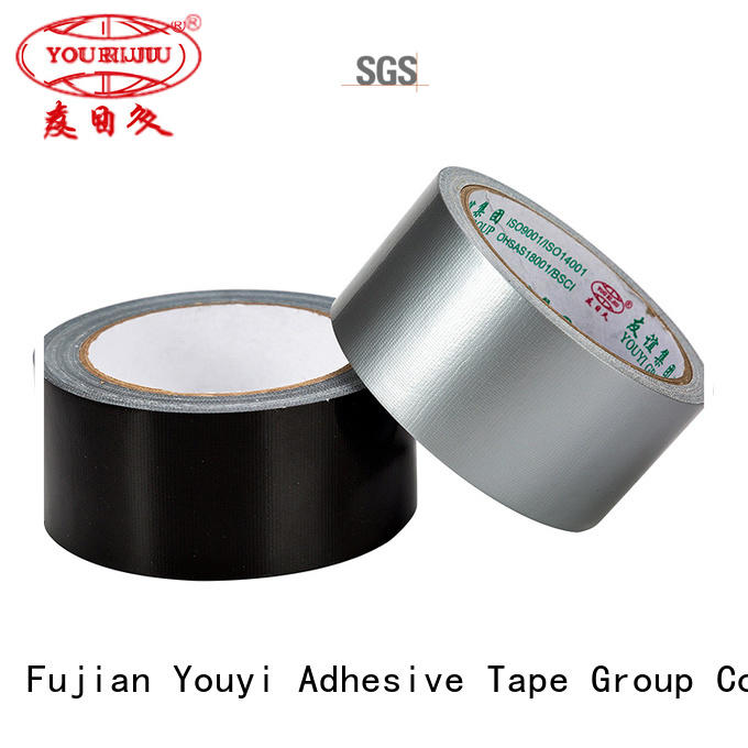 Yourijiu aging resistance cloth adhesive tape on sale for carton sealing