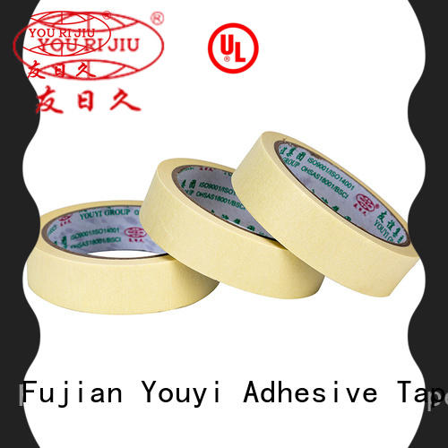 Yourijiu paper masking tape wholesale for light duty packaging