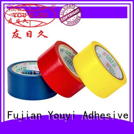 Yourijiu pvc electrical tape wholesale for voltage regulators