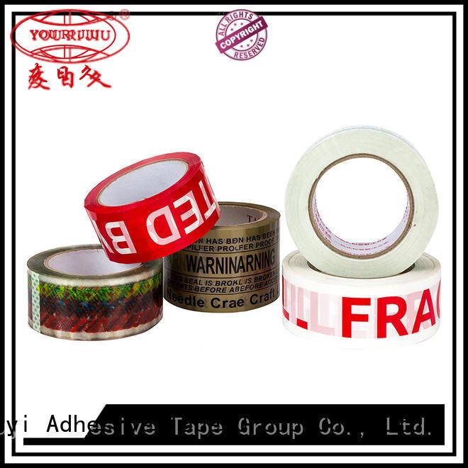 odorless bopp adhesive tape high efficiency for decoration bundling