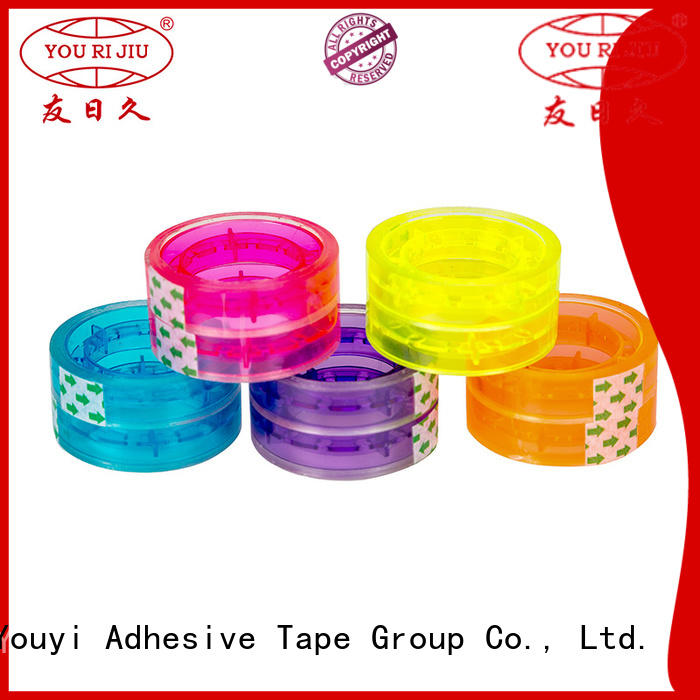Yourijiu good quality bopp packaging tape supplier for auto-packing machine