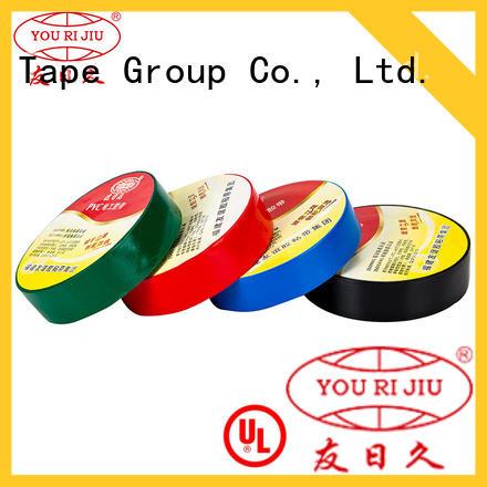 Yourijiu waterproof pvc adhesive tape supplier for transformers