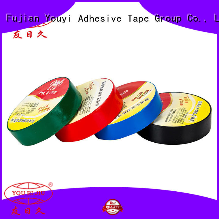 Yourijiu pvc adhesive tape factory price for wire joint winding