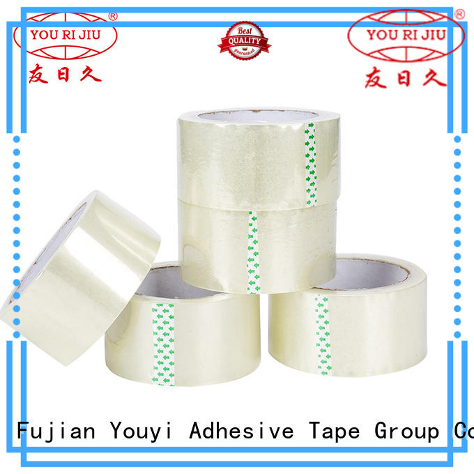 Yourijiu odorless bopp tape factory price for strapping