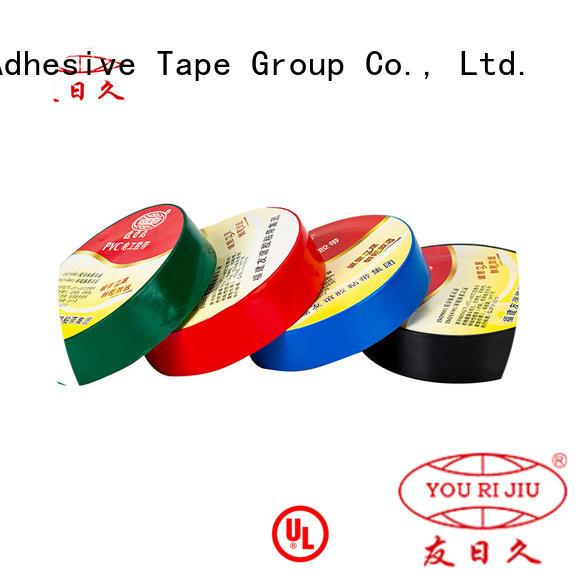 Yourijiu waterproof pvc electrical tape wholesale for capacitors