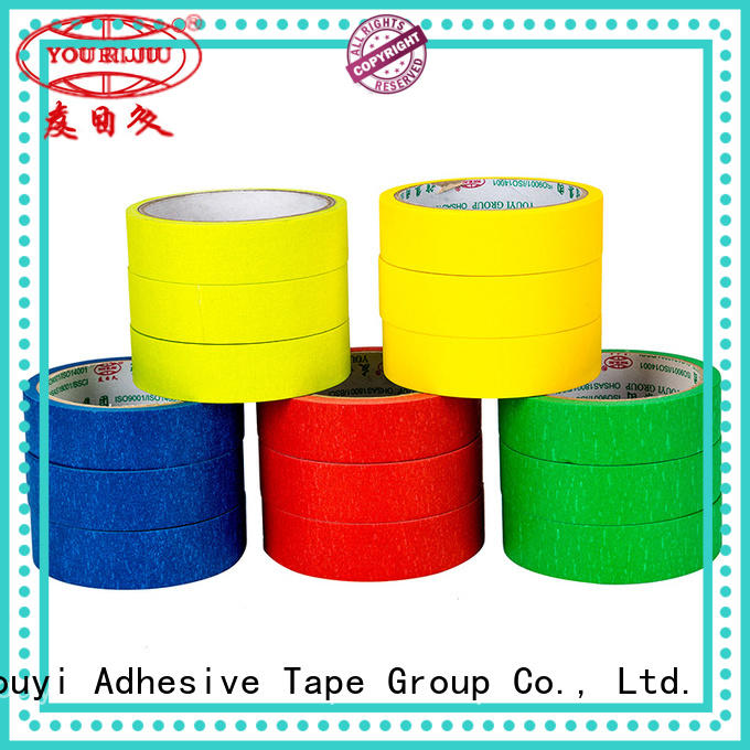 best masking tape directly sale for light duty packaging Yourijiu