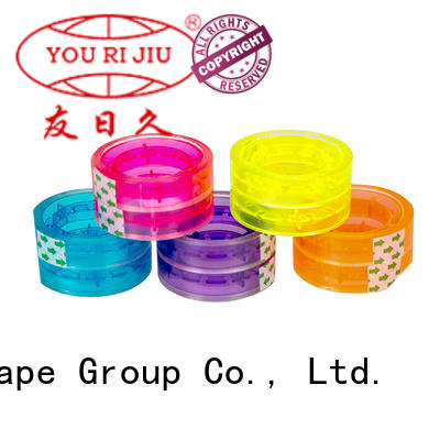 transparent bopp adhesive tape factory price for gift wrapping