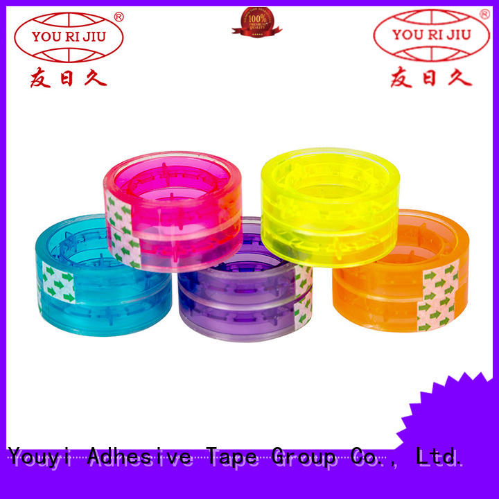 transparent clear packing tape high efficiency for gift wrapping