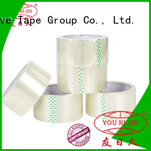 Yourijiu transparent bopp printed tape anti-piercing for auto-packing machine