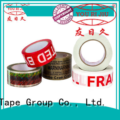 Yourijiu good quality bopp packaging tape factory price for carton sealing