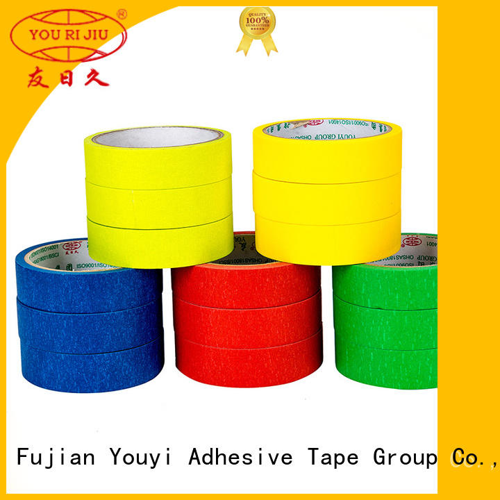 Yourijiu paper masking tape easy to use for home decoration