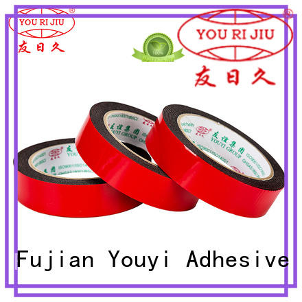 Yourijiu anti-skidding double sided tape promotion for stationery