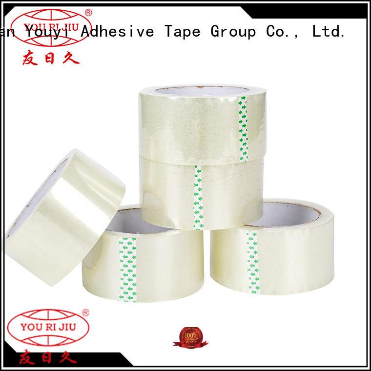 Yourijiu colored tape anti-piercing for carton sealing