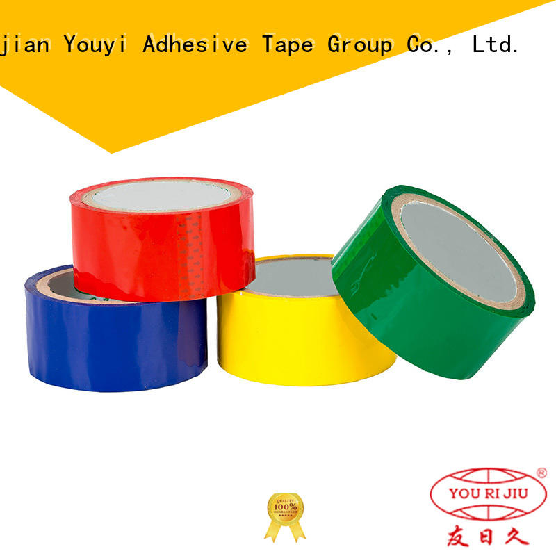 Yourijiu bopp packaging tape high efficiency for gift wrapping