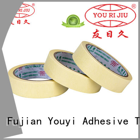 Yourijiu adhesive masking tape directly sale for woodwork