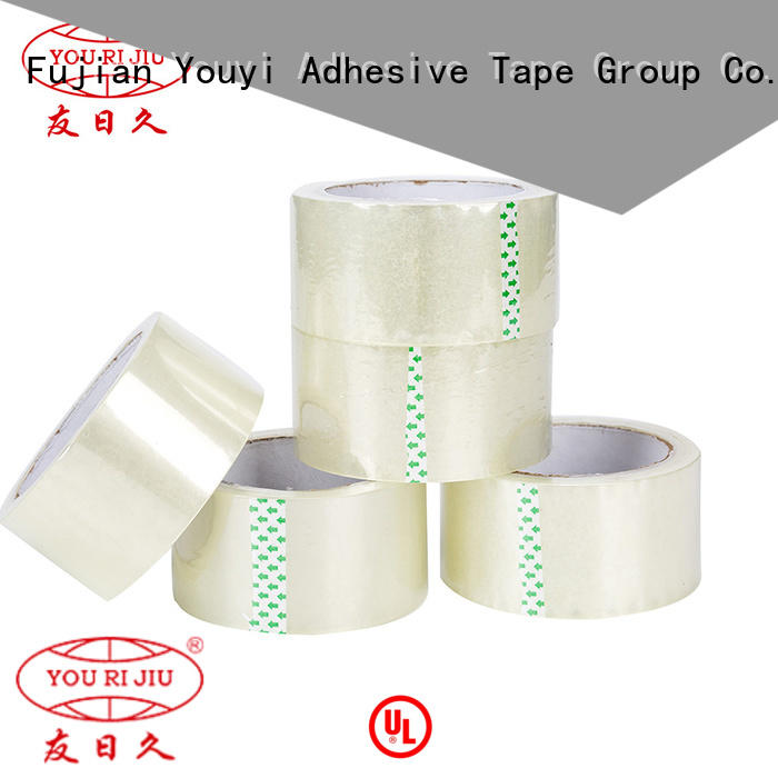 Yourijiu odorless bopp packing tape supplier for strapping