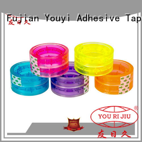 Yourijiu colored tape factory price for strapping