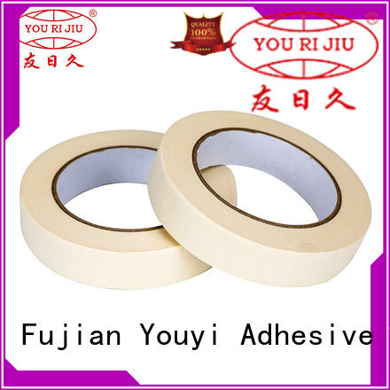 Yourijiu high adhesion paper masking tape wholesale for bundling tabbing