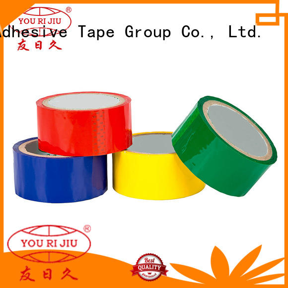 non-toxic colored tape high efficiency for auto-packing machine