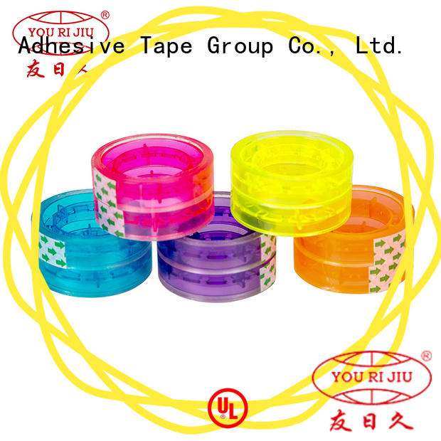 odorless bopp stationery tape high efficiency for strapping