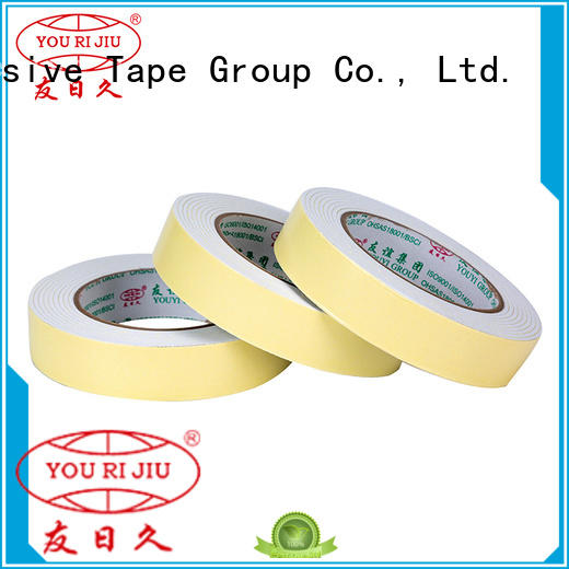 Yourijiu professional double sided foam tape at discount for food