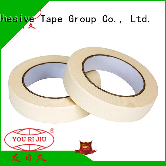 Yourijiu paper masking tape directly sale for light duty packaging