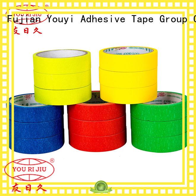 Yourijiu no residue paper masking tape directly sale for bundling tabbing