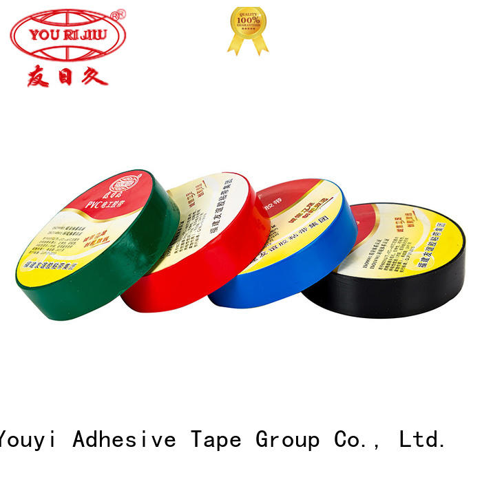 corrosion resistance pvc electrical tape supplier for wire joint winding