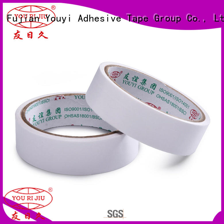 Yourijiu safe double sided tape promotion for stickers