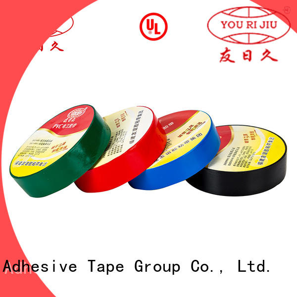 Yourijiu pvc electrical tape personalized for wire joint winding