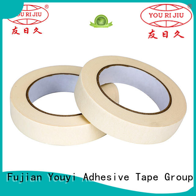 Yourijiu high temperature resistance masking tape price wholesale for home decoration