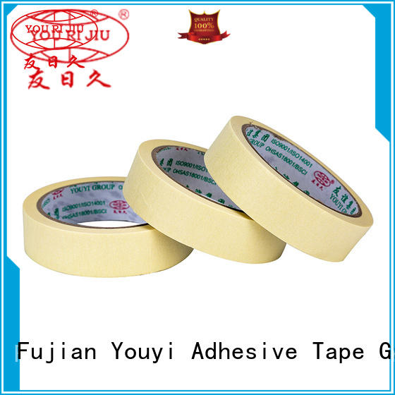 no residue masking tape easy to use for light duty packaging